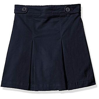 Essentials Girl's Uniform Skort, Navy Blue, XL(P)
