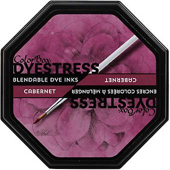 Clearsnap ColorBox Dyestress Blendable Dye Ink Full Size Cabernet