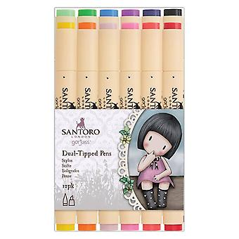 Gorjuss Dual Tip Illustration Markers