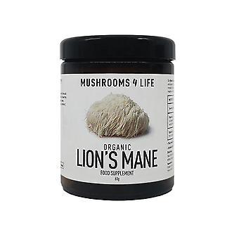 Mushrooms4Life Organic Lion-apos;s Mane 60g (ML0094)