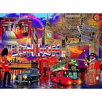 Puzzle - Ceaco - Cities. Villes. Ciudades - London 1000pcs New 3394-3