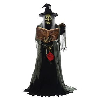 Animated Spell Speaking Witch Halloween Prop Trick Or Treat