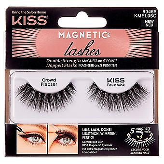 Kiss Reusable Magnetic Lightweight Lashes - Crowd Pleaser - Faux Mink Effect