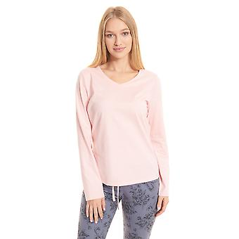 Rösch be happy! 1202120-10013 Women's Peach Pyjama Top
