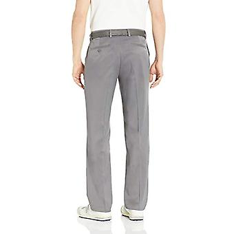 Essentials Men's Standard Classic-Fit Stretch Golf Pant, Gri, 35W x 32L