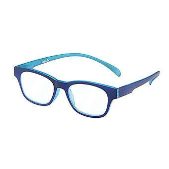 Lesebrille Unisex  Wayline-Monkey blau Stärke +2.50 (le-0167B)