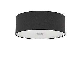Ideal Lux Woody - 4 Leve Teto Médio Flush Light Preto, E27