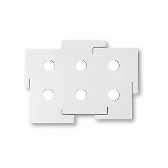 Ideal Lux Totem - 6 Licht Decke Licht Weiß