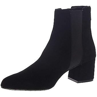 Kenneth Cole Réaction Femmes-apos;s Shoes Kick Block Bootie Leather Pointed Toe Ank ...