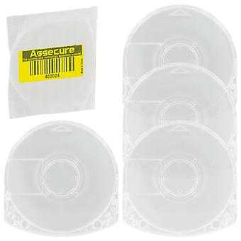 Umd case for psp sony replacement game movie disc casing shell - 4 pack | zedlabz