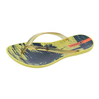Ipanema onda Tropical mujer Chanclas / Sandalias - amarillo