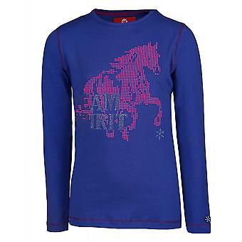Horka Flash Childrens Long Sleeved T-shirt - Royal Blue