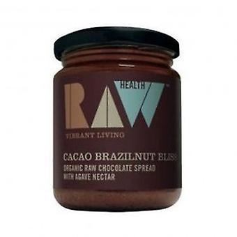 Raw Health - Org Cacao Brazil Choc Spread 170g