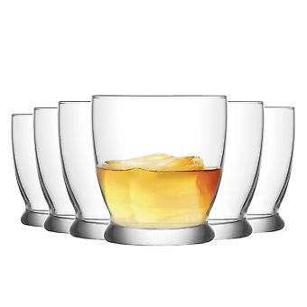 LAV Roma Whisky Tumbler Bril - 295ml - Pack of 6