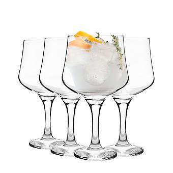 Rink Drink 4 Piece Balloon Gin Glass Set - Grand Copa Style Bowl Glass - 690ml