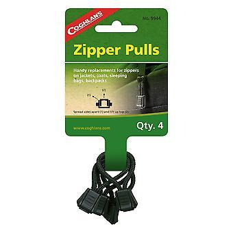 Coghlans Zipper Pulls Pack of 4 (C9944)