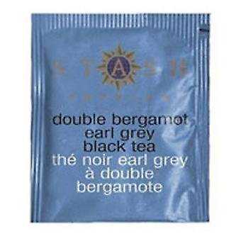 Stash Tea Double Bergamot Earl Grey Tea, 18 Bags