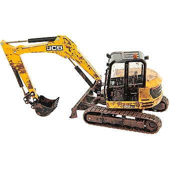 Britains JCB Midi Excavator 'Muddy'  Britain's At Work  1:32