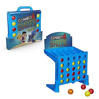 Hasbro gaming  twist on the connect 4 shots game for kids age 8 year and