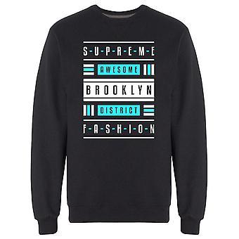 Supreme Awesome Brooklyn Sweatshirt Men's -Image by Shutterstock