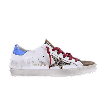 Golden Goose Superstar Leather Leopard Star White GWF00101F00015810226 shoe