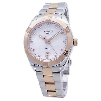 Tissot T-classic Pr100 T101.910.22.116.00 T1019102211600 Diamond Accents Damen's Uhr