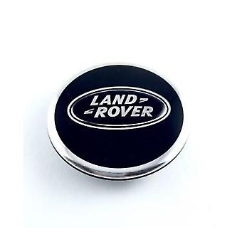 Black Land Rover Wheel Center Cap Hub Badge 63mm 1 PCS For Evoque Defender Discovery Sport Velar Freelander