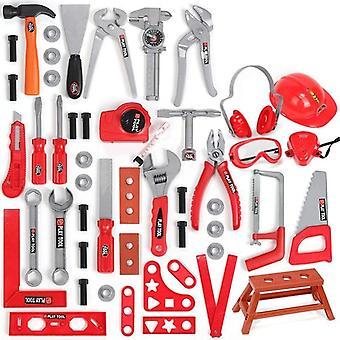 49pcs / sett hageverktøy, late spille reparasjonsverktøy, miljøplast