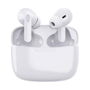 Fonge Y113 Wireless Earphones - True Touch Control TWS Bluetooth 5.0 Ear Buds Wireless Earphones Earbuds Earphone White