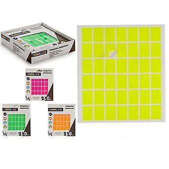 Étiquettes Auto-adhésifs Rectangulaires (17 x 24 mm) (210 uds)