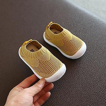 Kid Baby Prvý Walkers Topánkyuhodné Topánky, Ležérne Mesh Mäkké dno