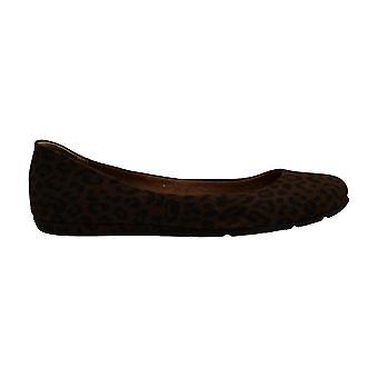 American Rag Womens aellie Leather Almond Toe Ballet Flats