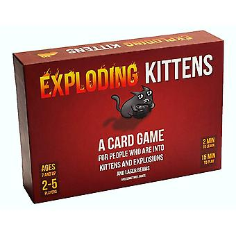 Exploding kittens card game - family-friendly party games - card games for adults, teens & kids expl