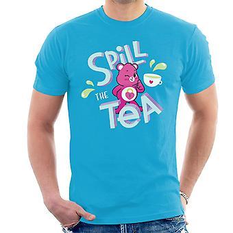 Care Bears Unlock The Magic Spill The Tea Men's T-Shirt