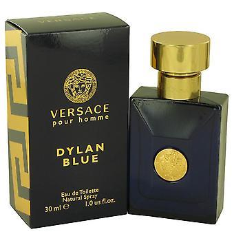 Versace Pour Homme Dylan Blue Eau De Toilette Spray By Versace 1 oz Eau De Toilette Spray