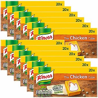 Knorr Stock Cubes, 12 Packs of 200g, Chicken