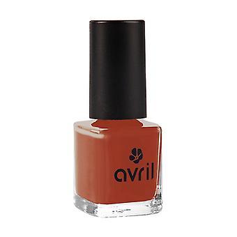 Brick red nail polish N ° 863 None
