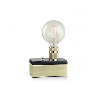 Etui Messing Tafellamp 1 Lamp