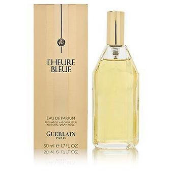 L'heure bleue av guerlain för kvinnor 1,7 oz eau de parfum spray påfyllning