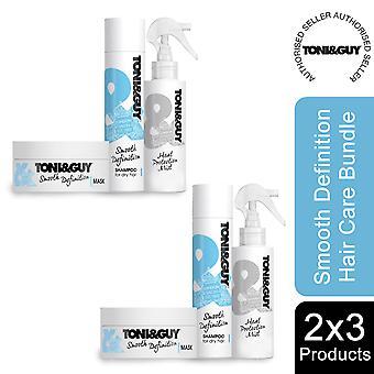 2 Pack Toni & Guy Bundle Hair Treatment For Dry Hair