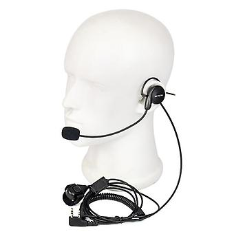 Universal 2pin Finger Ptt Earpiece For Push And Talk