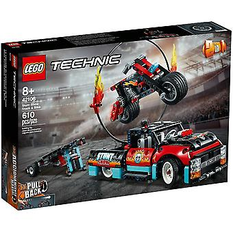 LEGO 42106 Truck and Motorbike for Stunt Show