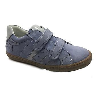 PRIMIGI Double Velcro Trainer Style Shoe Baby Blue