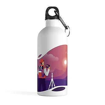 Nature photographer - Stainless steel water bottle