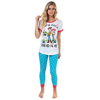 Women's Disney Toy Story Pyjama's in Het Wit