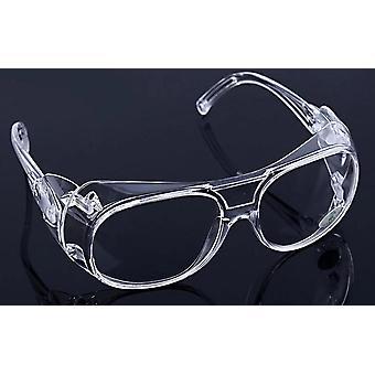 Transparente Schutzbrille