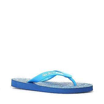 Nouveau Peter Storm Boy's Contour Flip Flops Blue