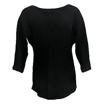 Isaac Mizrahi Live! Women's Sweater Black A390287