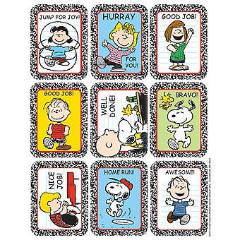 Peanuts Motivational Sticker, 36/Pkg