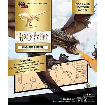 IncrediBuilds Harry Potter Hungarian Horntail Book and 3D Wood Model by Insight Editions